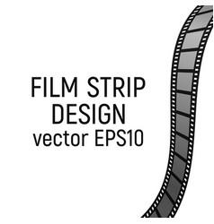 Filmstrip design vector