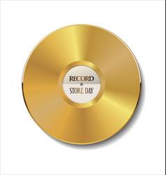 gold vinyl vector image