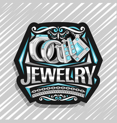 logo for jewelry vector image