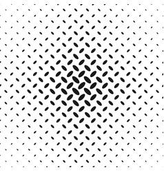 monochrome halftone ellipse pattern background vector image
