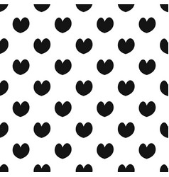 Reliable heart pattern seamless vector