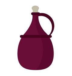wine carafe cork icon vector image