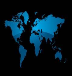world divide vector image
