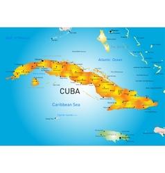 Cuba country vector