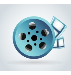 Film cinema technology vector image
