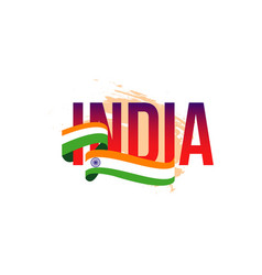 India independent day template design vector
