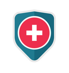 medical healthcare protection icon concept vector image