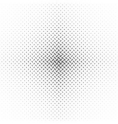 monochrome abstract halftone diagonal ellipse vector image
