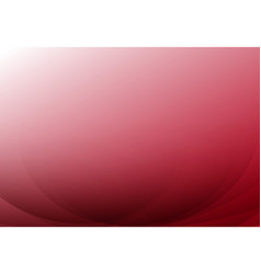 red curve abstract background with copy space vector image