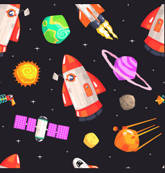 space seamless pattern design element can be used vector image