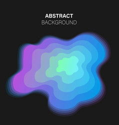 trendy futuristic abstract background vector image
