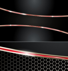 Premium red automotive abstract background vector