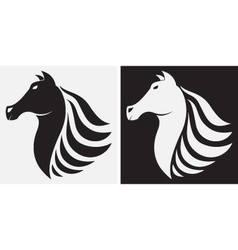 Horse icon vector image