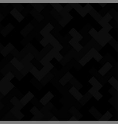 Abstract geometric seamless pattern black vector
