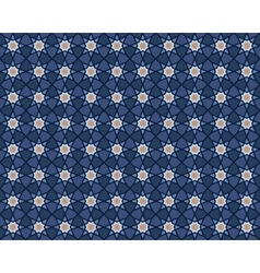 arabic pattern vector image
