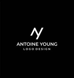 Ay logo vector