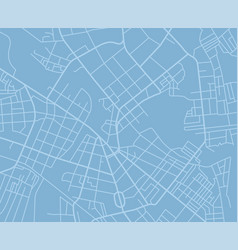 Blue map vector