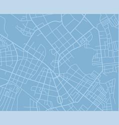 Blue map vector