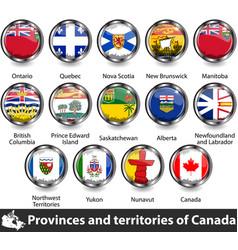 Flags canada vector