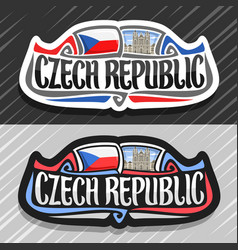 Logo for czech republic vector