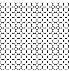 monochrome geometric halftone circle pattern vector image
