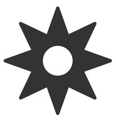 New star sticker flat icon vector