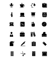 Office Icons 1 vector