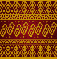 Pattern traditional seamless 05 vector