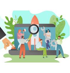 startup business start vector image