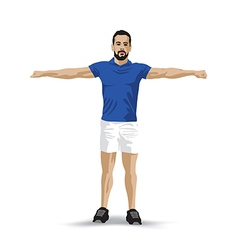 Training pose vector