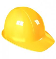 work helmet vector image vector image