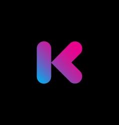 Letter k logo icon design template element vector