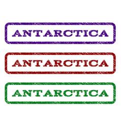 Antarctica watermark stamp vector