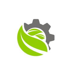 farm technology logo design template vector image