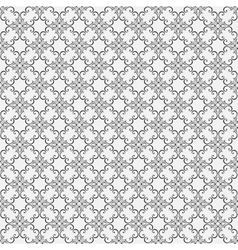 Floral seamless wallpapers in the style of Baroque vector image