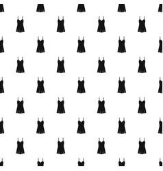 Nightdress pattern vector