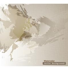 brown watercolor texture vector image