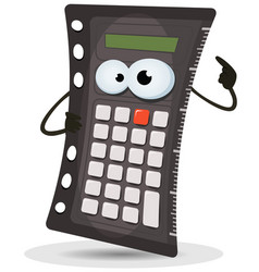 Calculator character vector