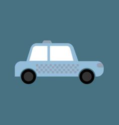 Car linear icon taxi thin line automobile vector