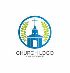 Church of the lord jesus christ vector