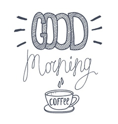 Cood morning vector