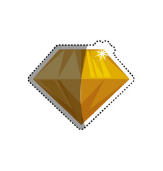 Gemstone diamond jewel vector