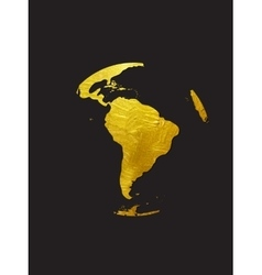 Globe Golden Grunge Icon vector
