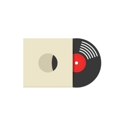 Record vinyl album cover vector image