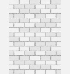 White old brick vertical background vector
