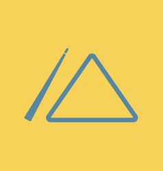 Billiard cue and triangle vector