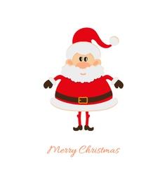 Santa Claus postcard vector image