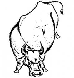 ox vector image vector image