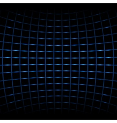abstract blue net vector image vector image