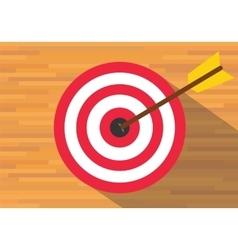 Goals target board bullseye vector
